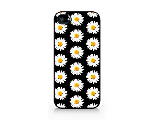 finest selection 23473 5aaef Daisy Pattern - Black - Compatible for iPhone 5/5S Black Case (C) Andre  Gift Shop