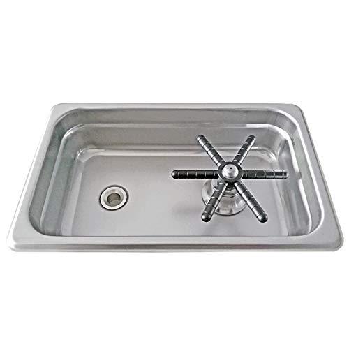 Amazon.com: Copa de lavado Dispensar Rinser Con Desagüe y ...