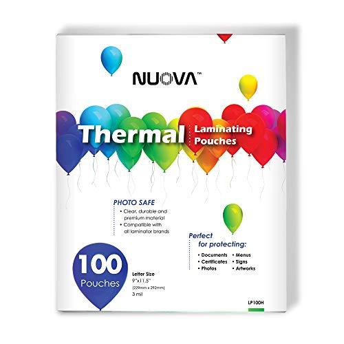 Nuova Premium Thermal Laminating Pouches 9