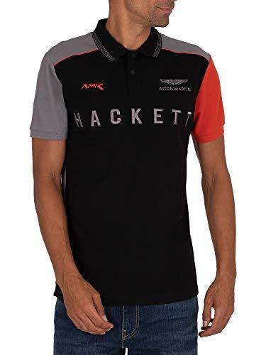 Hackett London Men's AMR Polo Shirt, Multicoloured