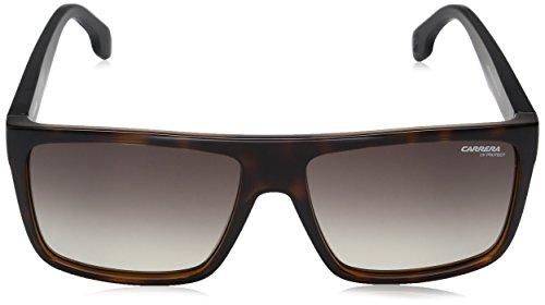 3ead7e391ba8 ... Carrera Men's Ca5039s Rectangular Sunglasses, HAVANA MATTE BLACK/BROWN  GRADIENT, ...