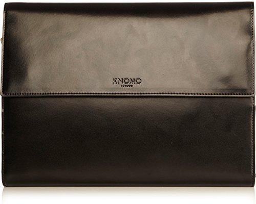 Knomo Knomad Air Leather Portable Organizer, Black