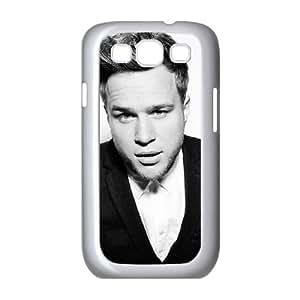 Olly Murs H0F66I0NI funda Samsung Galaxy S3 9300 funda caso 04ABE3 blanco