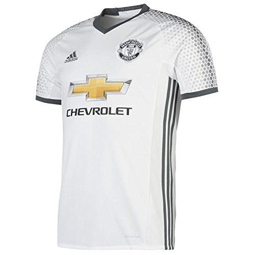 7ef8e136c7f Adidas Manchester United FC Official 2016 17 SS Third Jersey - Adult -  White Bold Onix - XX-Large - Buy Online in Oman.