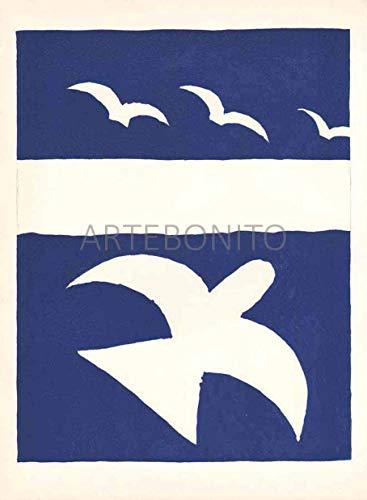 Braque Lithograph - Artebonito Braque Lithograph V31-L01 Carnet intimes - Verve 1955