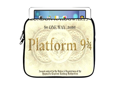 London To Hogwarts Train Ticket Design Print Image - Harry Potter Tablet Case Kindle