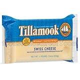 Tillamook Swiss Cheese, 1 Pound -- 12 per case.