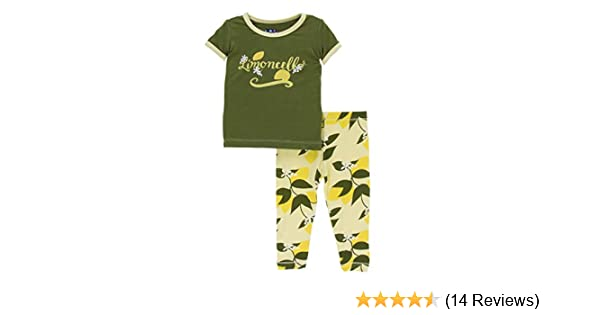 72f070b98 Kickee Pants Girls Short Sleeve Pajama Set at Amazon Women s ...