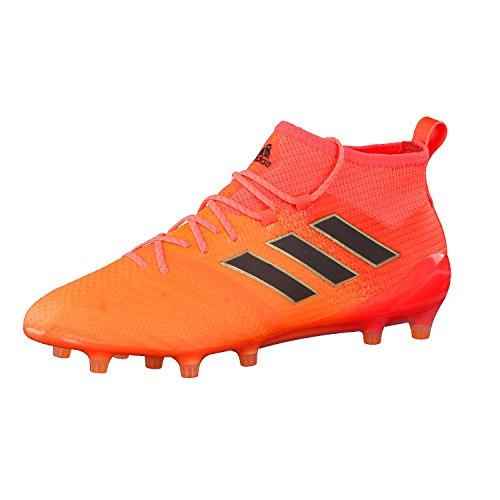 adidas Ace 17.1 FG, Botas de Fútbol Para Hombre, Varios Colores (Narsol/Negbas/Rojsol), 42 EU