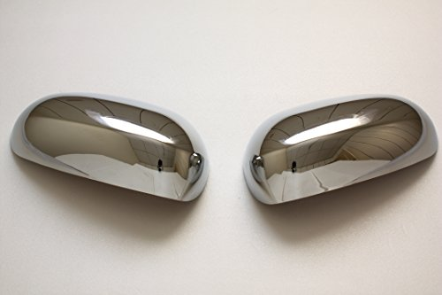 B2 JAGUAR 04-07 S-type XJ6 XJ8 X350 /01-06 X-type /XK XKR Chrome Door Mirror Covers by B2