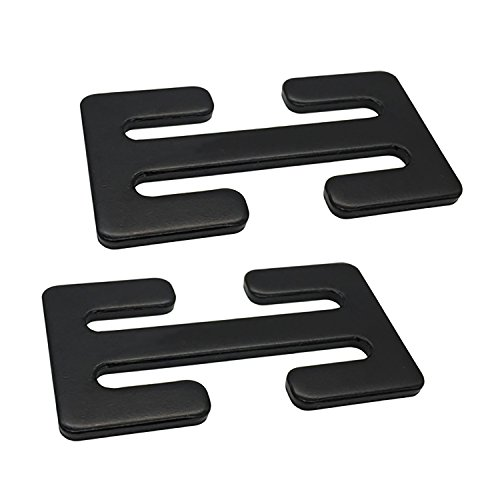 Sungrace 2 Pack Metal Lock(Black)