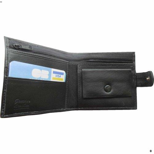 Bank von Dad Euro, Herren Leder Nappa Geldbörse Portemonnaie Geldbeutel, Wallet. Geschenk präsentieren witzig lustig Humorous Lustige Bank of Dad