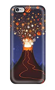 New Christmas Volcano Tpu Skin Case Compatible With Iphone 6 Plus 1353460K89507725