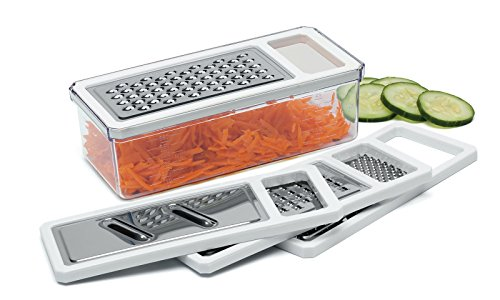Progressive New Grater Set/ Grate/ Shred/ Slice 5pc 8