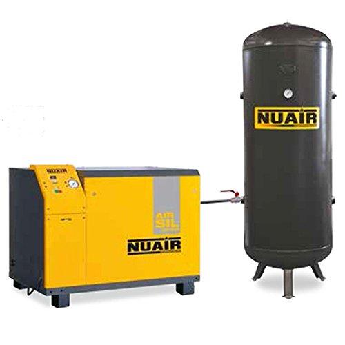 Compresor de aire insonorisã rãservoir vertical de 500 litros Motor 5, 5 CV triphasã NuAir: Amazon.es: Bricolaje y herramientas