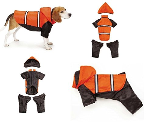 Dog Snowsuit Expedition Reflective Convertible Snow Suits Keep Dogs Warm & Dry by Defonia Petsupplies (Image #1)