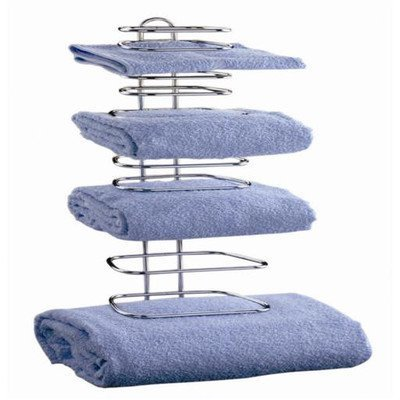 Taymor Hotel Chrome Four Guest Towel Holders - Hotel Towel Rack
