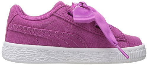 135e224468a0 PUMA Girls' Suede Heart Kids, Rose Violet White, 9 M US - Import It All