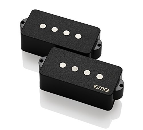 EMG Geezer Butler Precision HZ Set Black Bass Guitar Pickup 4646.00 w/ Bonus RIS Pick (x1) 654330215063