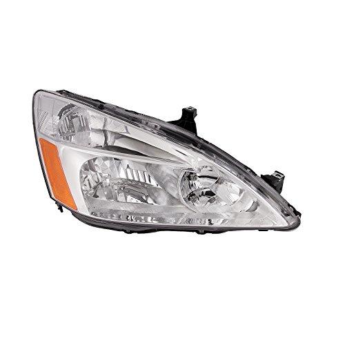 Side Headlight Coupe - Headlights Depot Honda Accord Sedan/Coupe Headlight Headlamp Passenger Side New