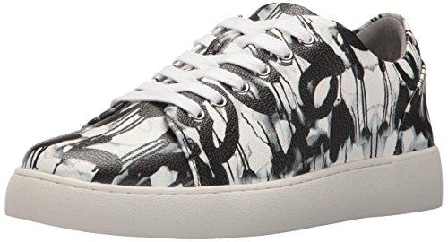 Negen West-womens Ongerepte Synthetische Sneaker Zwart / Multi