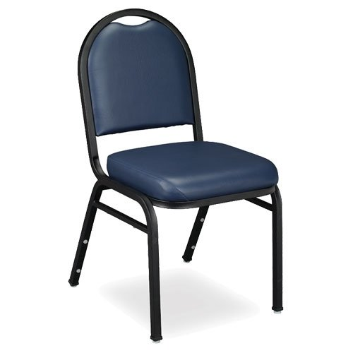 National Public Seating 9204BTPL Dome-Back Stacker, 9200 Series, 2
