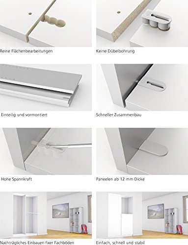 Lamello Body Connector Cabineo | for Middle Walls | Contents: 500 by Lamello (Image #2)