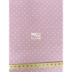 "Light Pink Cotton Fabric 58""/59"""
