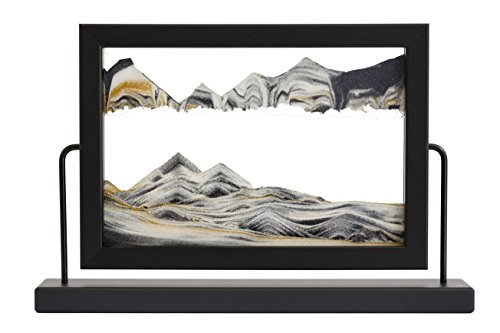 Rainbow Vision Sand Picture -- Black Window