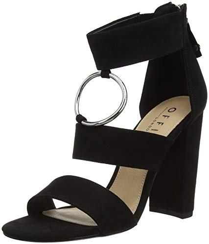 Women's Office Black Toe Habibi Heels 00000 Open black drFZrqw