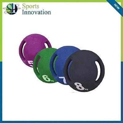Carta Sport 6 kg balón Medicinal con Asas - Verde -: Amazon.es ...