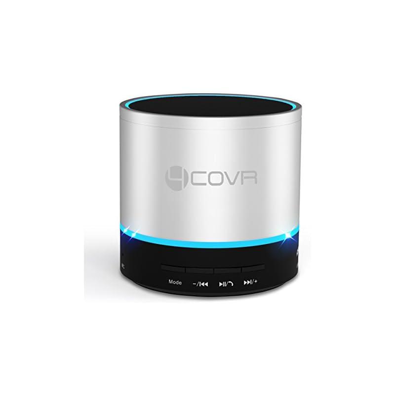 Portable Bluetooth Speaker, Forcovr Mini