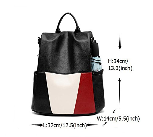 inch 12 5 backpack 3 handbag Ms 13 LXopr 5 5 PU backpack 5P8qw7SXw