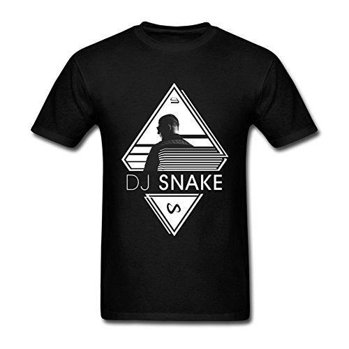 T Snake Echostage Dj At Homme's Shirt Poster Xxxxl Black 75HXByq