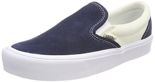 Vans Unisex Adults' Lite Slip on Trainers Blue ((Two-tone) Dress Blues/Marshmallow R3k) cmFyFZs