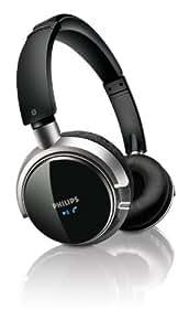 Philips Auricular estéreo Bluetooth SHB9001 - Auriculares (Binaurale, Negro, Bluetooth, 15 m, 1,5 m, 2.0+EDR)