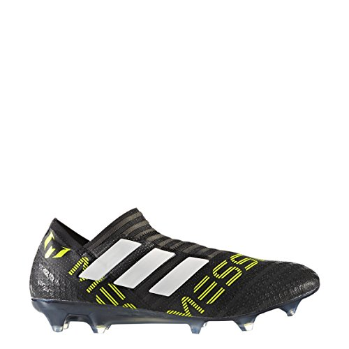 adidas Nemeziz 17 360 Agility FG Cleat Mens Soccer 9 Black-White-Electricity (Best Soccer Cleats In The World 2017)