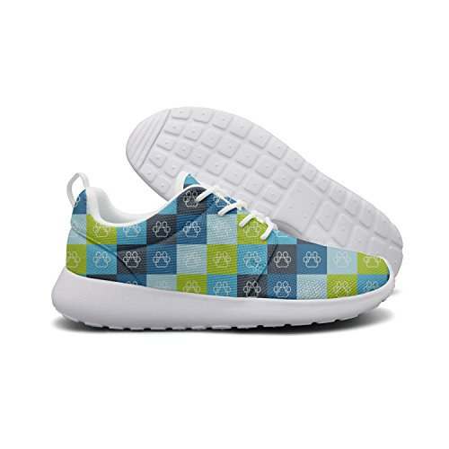 Running Footprint Mesh Roshe Womens Sneakers Flex Colourfor Cute Hoohle Face Cat Stylish Sports Lightweight 1 Shoes Hipster Cats Tqpgw47