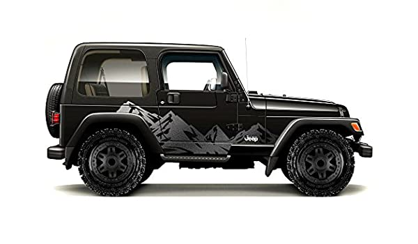 Amazon com: Factory Crafts Jeep Wrangler 1999-2006 Mountains