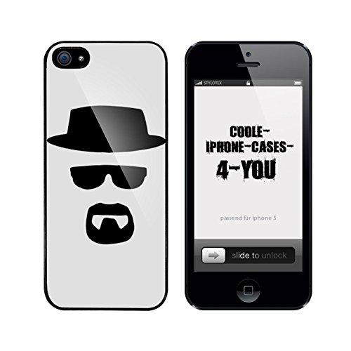 Iphone 5 / 5S Schutzhülle Bad Walter v9 - schwarzer Rahmen
