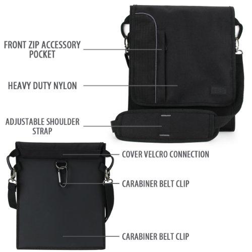 Usa Gear Professional Shoulder Sling Tablet Case Messenger