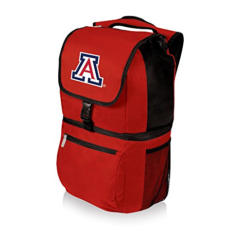 (NCAA Arizona Wildcats Zuma Insulated Cooler Backpack, Red)