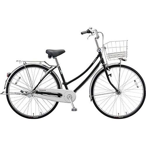 ブリヂストン シティサイクル自転車 ロングティーンDX LT6WTP P.Xクリスタルブラック P.Xクリスタルブラック B07J2W8VNK