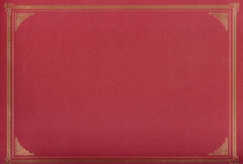 Geographics Red Classic Linen Document Covers, 9.75 x 12.5 Inches, Red Gold Foil, 6 Pack (Diploma Cover 8 X 10)