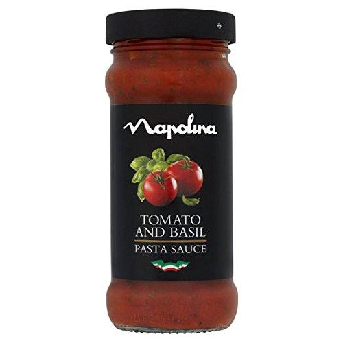 Napolina 350g de tomate y albahaca Salsa