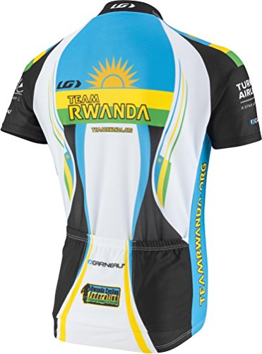 Equipe Short Sleeve Cycling Jersey - Louis Garneau 2016 Men's Equipe Pro Replica Short Sleeve Cycling Jersey - 6820805 (Rwanda - S)