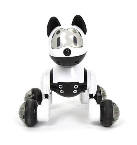 Wish Novelty   Youdi Voice Control Pet Dog  Interactive Robotic Puppy  Walks  Sings  Dances  Turns Around  And Follows You  Great For Kids