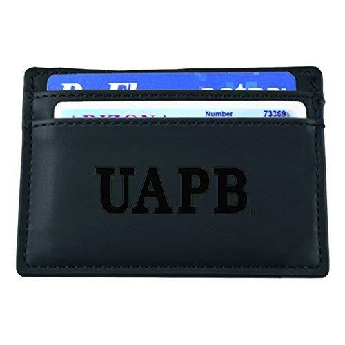 University of Arkansas at Pine Bluff-European Money Clip Wallet-Black