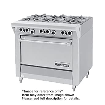 Garland MST43R E Master Series Heavy Duty 34quot Gas Range With 6