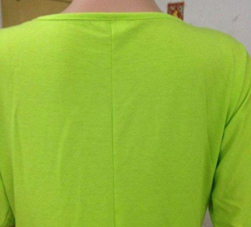 Shirt Courtes Chemise Rond Gris Chemisier Femmes T Chemise Beautisun Shirtshirt Manches Col Blouses Blouse Manches D't qnTaqw7X